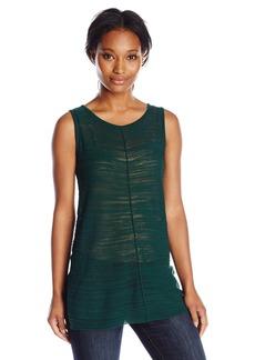 Joan Vass Women's Tunic Shell