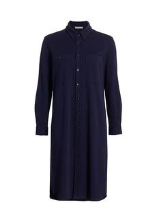 Joan Vass Longline Shift Shirtdress