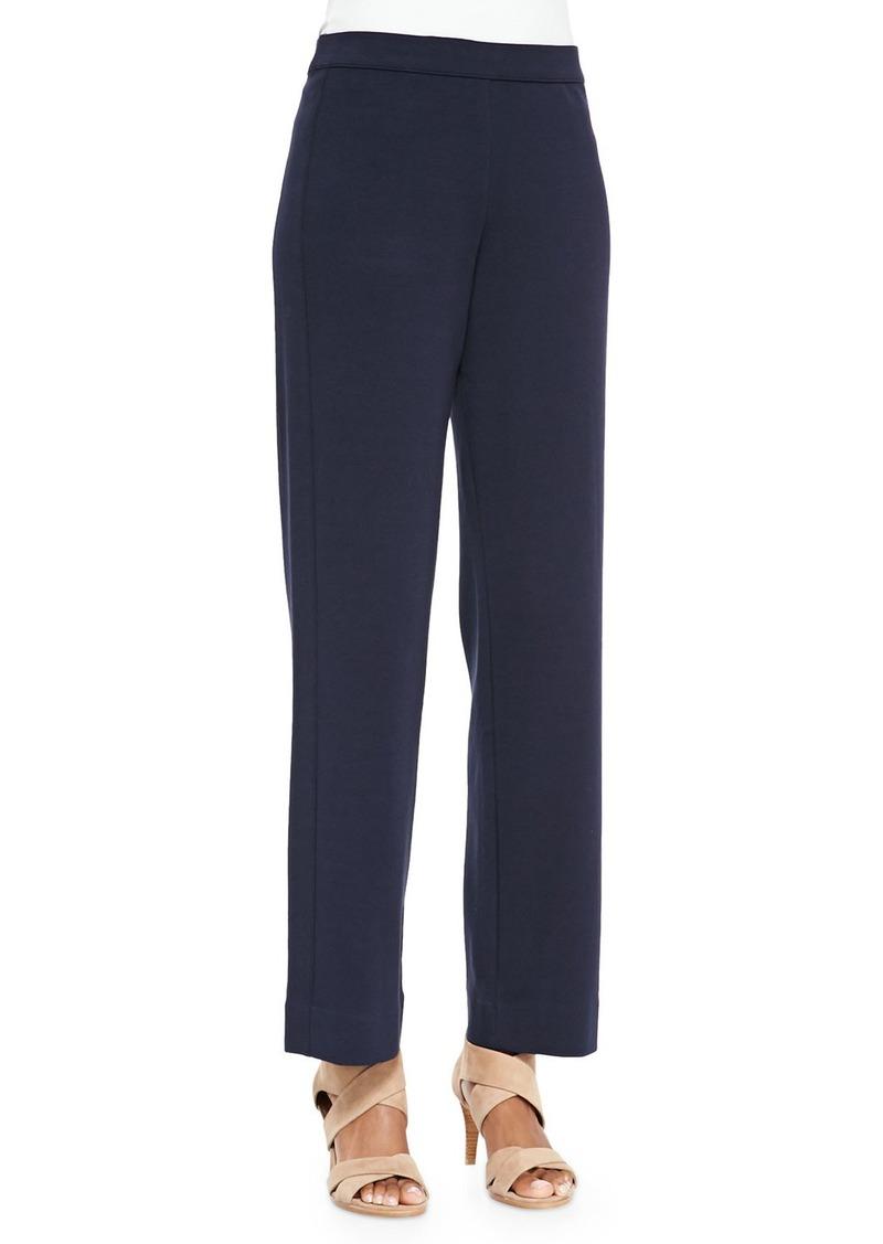 Joan Vass Petite Full-Length Jog Pants