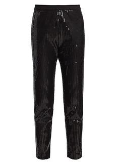 Joan Vass Petite Sequin Pants