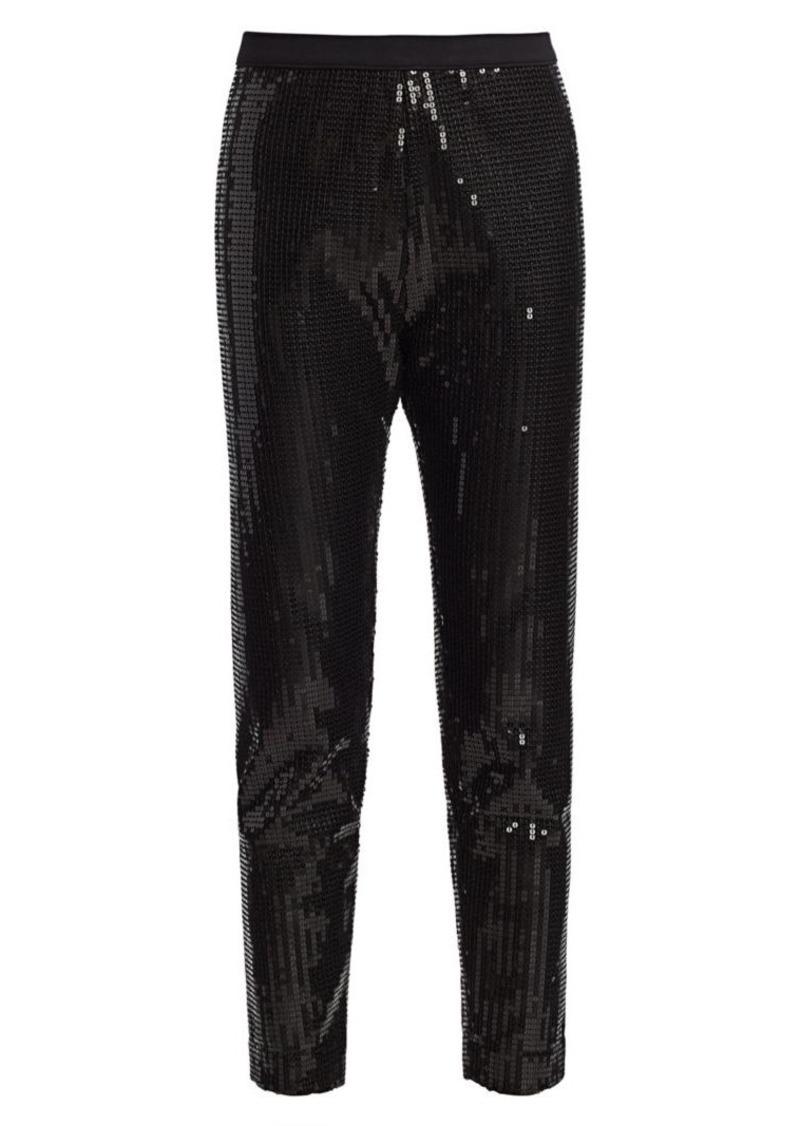 Joan Vass Sequin Pants