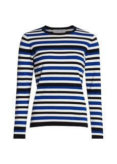 Joan Vass Petite Stripe Sweater