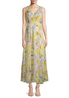Joan Vass Printed Day Dress