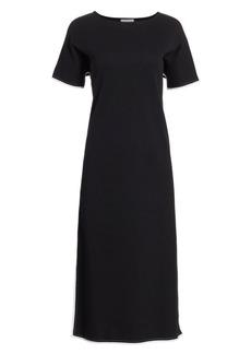 Joan Vass Split Caftan Dress