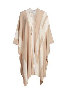 Joan Vass Striped Longline Wrap