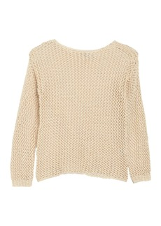 Joan Vass Tape Yarn Sweater