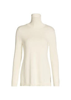 Joan Vass Turtleneck Tunic Sweater