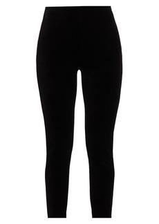 Joan Vass Velour Leggings
