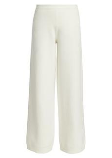 Joan Vass Wide-Leg Sweater Pants