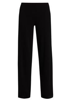 Joan Vass Wide-Leg Wool & Cashmere Sweater Pants