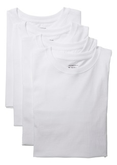 Jockey Classic Bonus Pack Crew Neck T-Shirt (3-Pack + 1 Free)