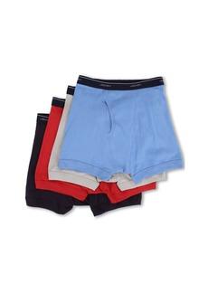 Jockey Cotton Full-Rise Boxer Brief 4-Pack