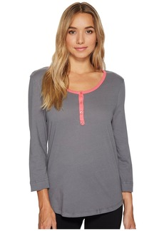 Jockey Cotton Jersey 3/4 Sleeve Top