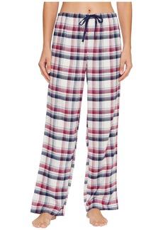 Jockey Flannel Plaid Long Pants