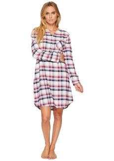 Jockey Flannel Plaid Sleepshirt