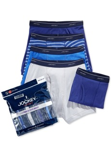 Jockey 4-Pack +1 Bonus Classic Cotton Boxer Brief Created for Macy's