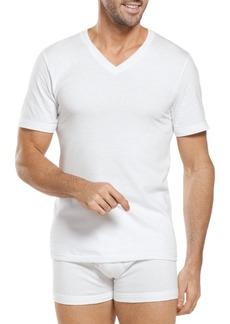 Jockey Big Man Classic Cotton V-Neck T-Shirts Two-Pack