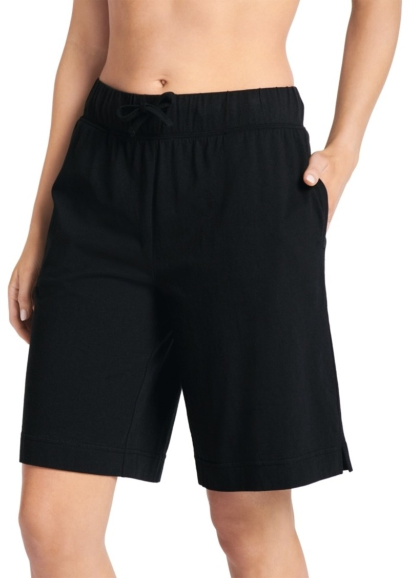 Jockey Everyday Essentials Cotton Bermuda Pajama Shorts