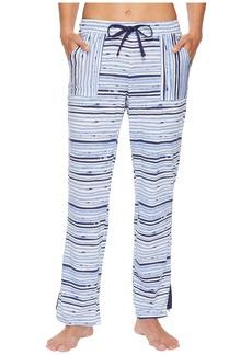 Jockey Cotton Jersey Striped Long Pants
