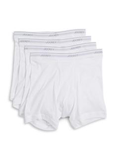 Jockey Staycool+ Boxer Briefs 3-Pack + 1 Bonus Pair