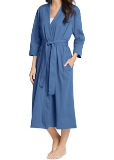 Jockey Everyday Essentials Cotton Long Robe