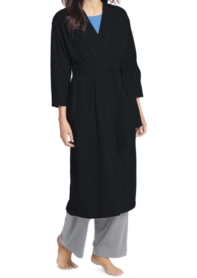 Jockey Everyday Essentials Cotton Long Robe