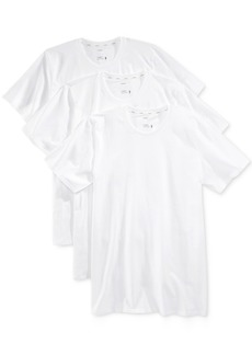 Jockey Men's 3 Pack Essential Fit Staycool + Cotton Crew Neck Undershirts