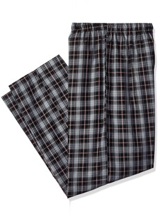 Jockey Men's Big and Tall Yarn Dye Woven Pajama Pant