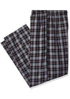Jockey Men's Big and Tall Yarn Dye Woven Pajama Pant