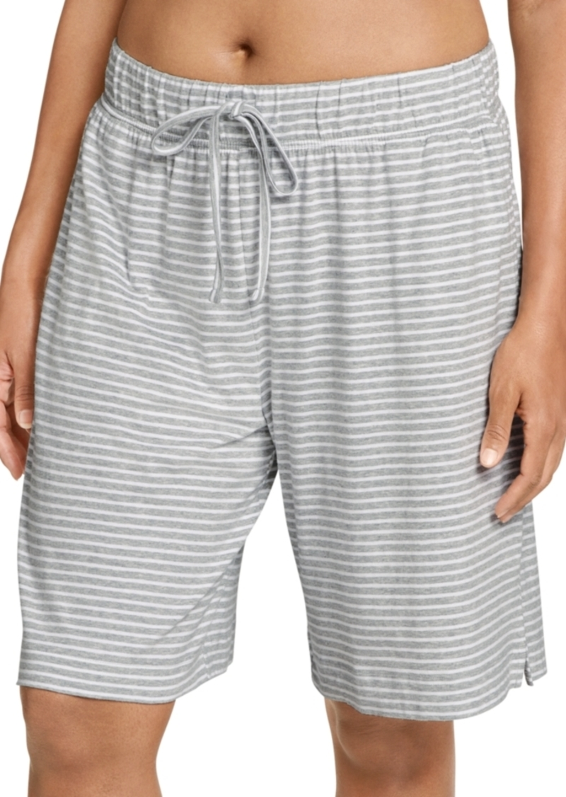 Jockey Plus Size Everyday Essentials Cotton Bermuda Sleep Shorts