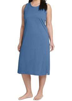Jockey Plus Size Sleeveless Long Cotton Nightgown
