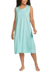 Jockey Plus Size Everyday Essentials Cotton Tank Sleepdress Nightgown