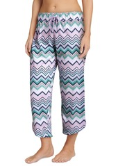 Jockey Printed Cotton Capri Sleep Pants
