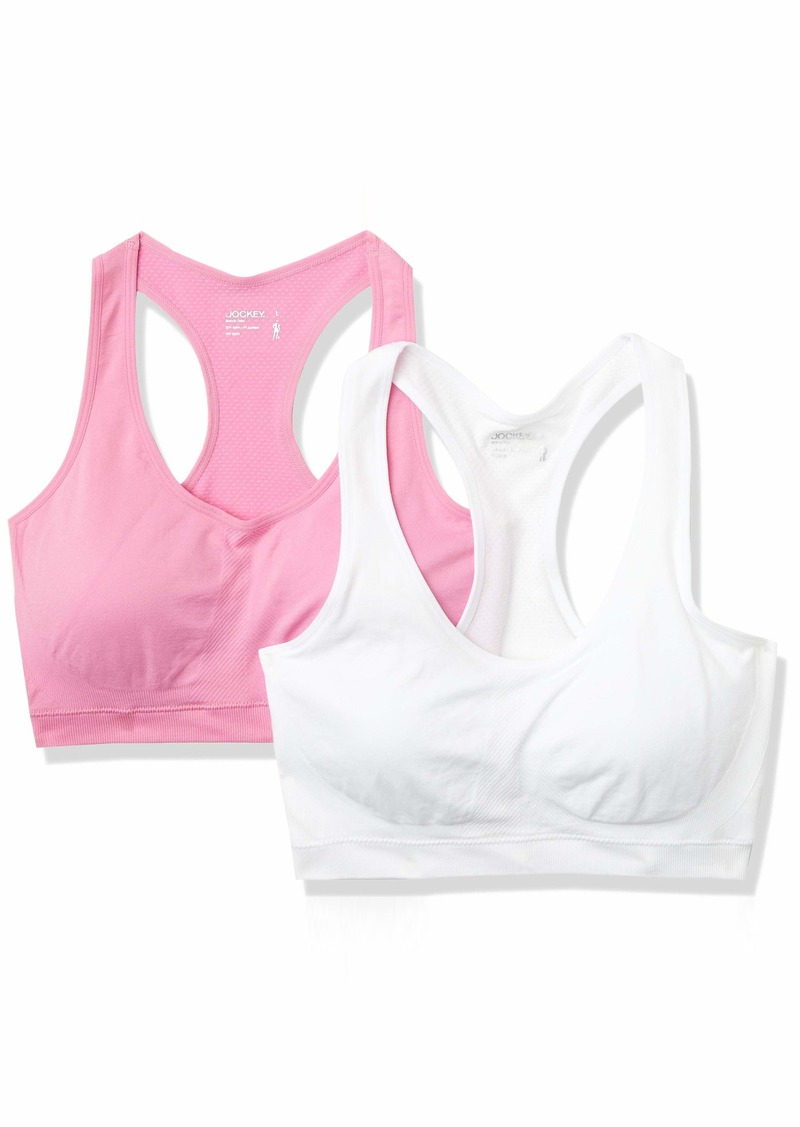 Jockey Women's 2 Pack Removable Cup Seamless Bra