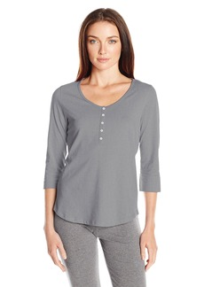 Jockey Women's 3/4 Sleeve Cotton Top