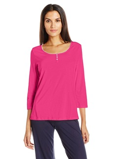 Jockey Women's 3/4 Sleeve Top  L
