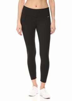 Jockey Women's 7/8ths Compression Capri Legging deep Black