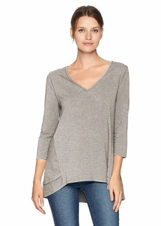 Jockey Women's Above Elbow Sleeve Sleep TOP Heather with NEPS XL