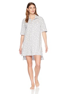Jockey Women's Boyfriend Sleepshirt Love dot S