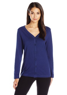 Jockey Women's Brushed Cotton Jersey Cardigan