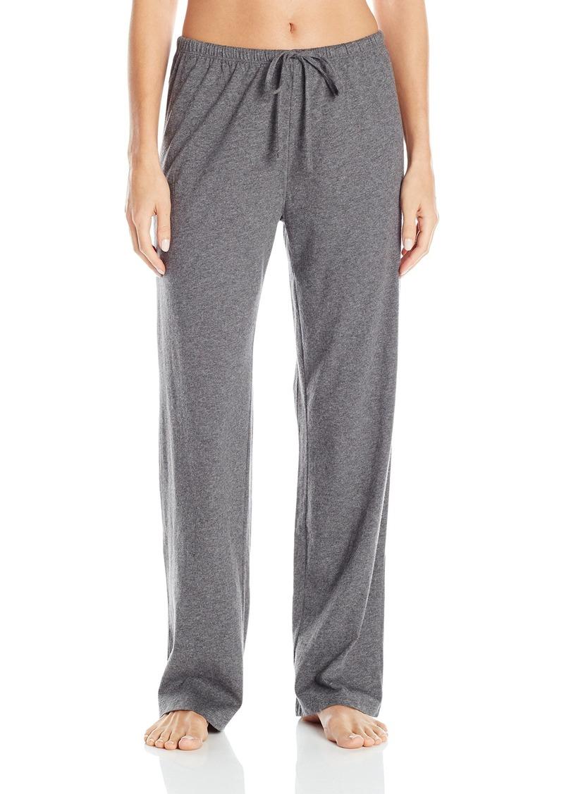 Jockey Women's Brushed Cotton Jersey Long Pant  L