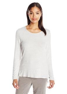 Jockey Women's Brushed Sweater Knit Long Sleeve Top