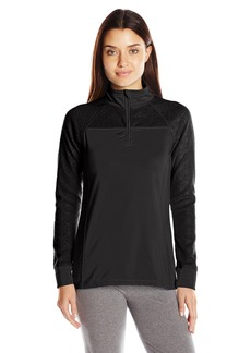 Jockey Women's Burnout Microfleece Half Zip Top  L