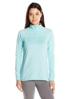 Jockey Women's Burnout Microfleece Half Zip Top  L