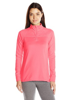 Jockey Women's Burnout Microfleece Half Zip Top  XL