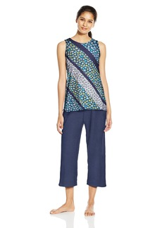 Jockey Women's Capri Pajama Set  L
