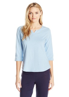 Jockey Women's Cotton 3/4 Length Sleeve Top