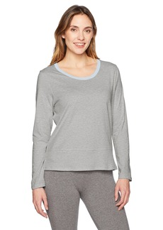 Jockey Women's Cotton Jersey Long Sleeve Top  XXL