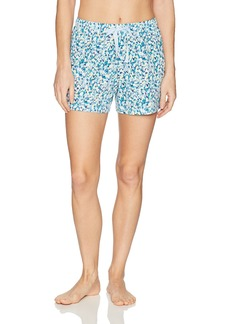 Jockey Women's Cotton Jersey Printed Boxer Short  S
