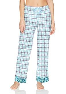 Jockey Women's Cotton Jersey Printed Long Pant  M